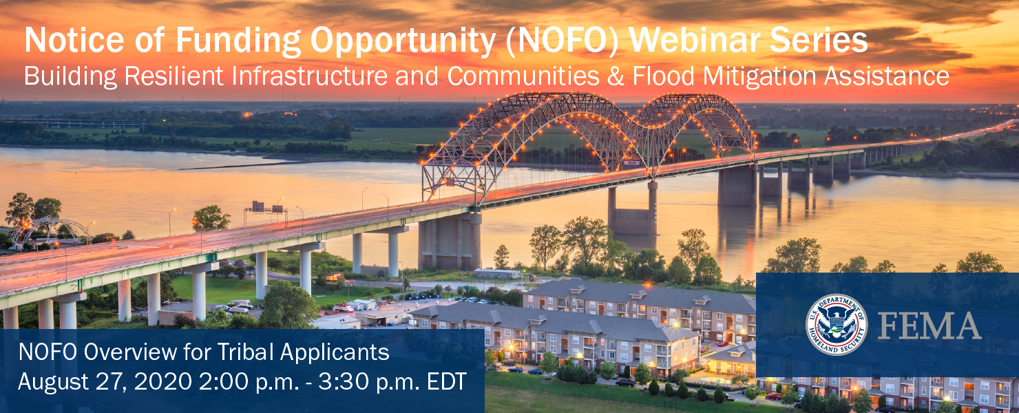 NOFO Webinar #4: Overview for Tribal Applicants